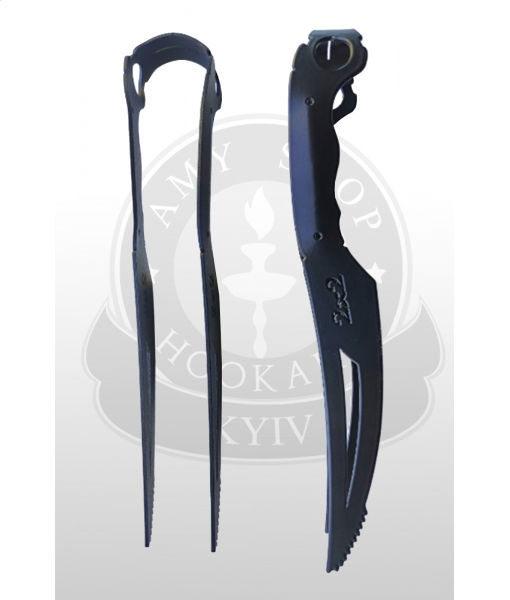 Щипцы 2x2 Hookah Black Knife