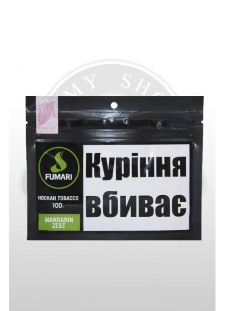 """Кальянный табак Fumari MANDARIN ZEST """"100"""
