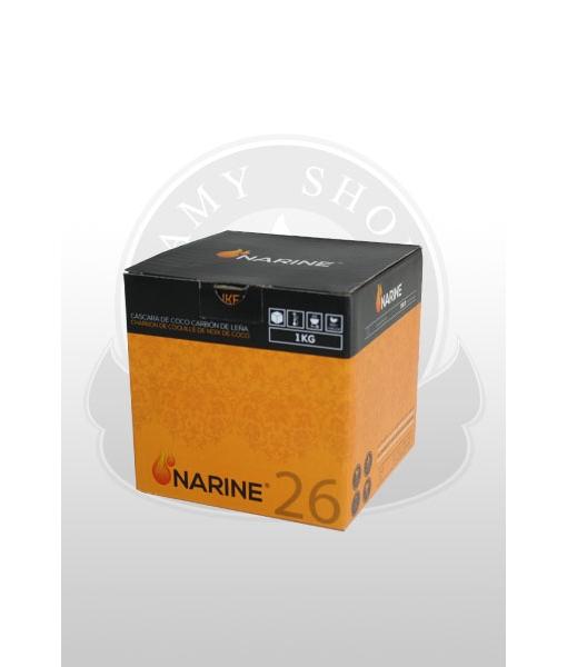 Кокосовый уголь Narine 1 кг