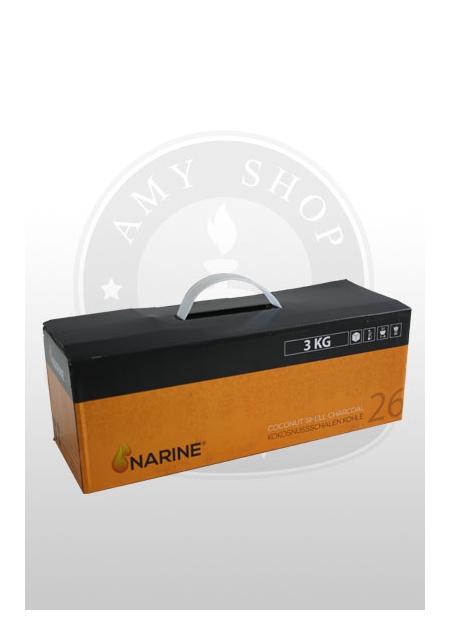 Кокосовый уголь Narine 3 кг