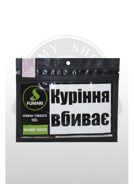 "Кальянный табак Fumari ORANGE CREAM ""100"