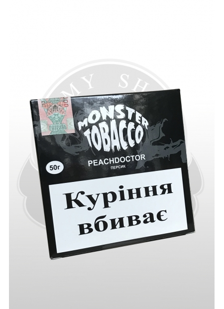 Monster tobacco PEACHDOCTOR 50г