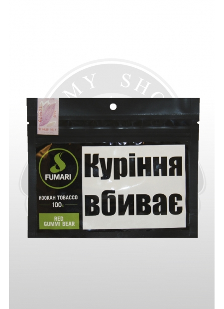 "Кальянный табак Fumari RED GUMMI BEAR ""100"