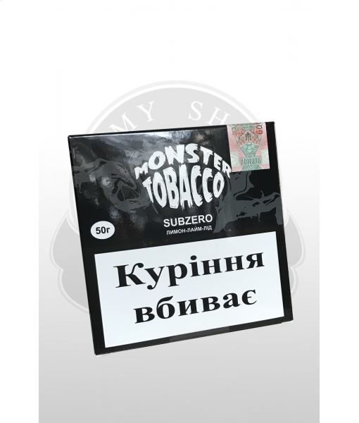 Monster tobacco SUBZERO 50г