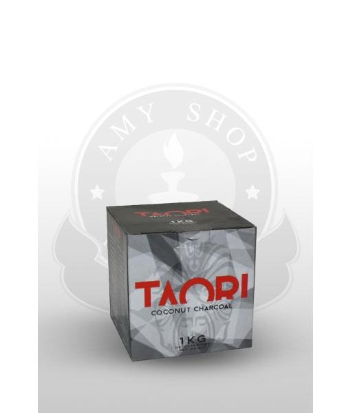 Кокосовый уголь TAORI 1 кг в упаковке