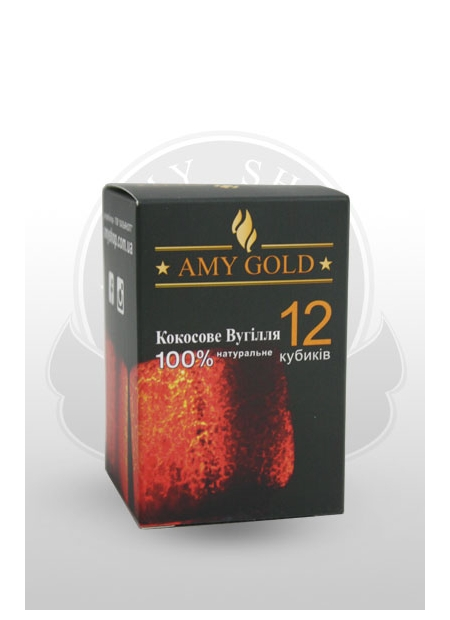 AMY GOLD 12 cubes 25mm