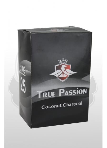 Кокосовый уголь TruePassion (1kg) 25mm