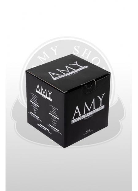 Кокосовый уголь AMY (1kg) 26mm